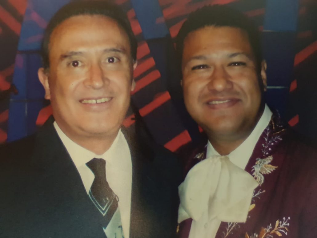 Felipe Martínez y Ricardo Rocha