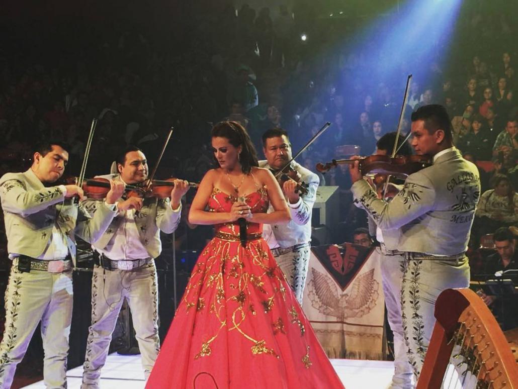 Mariachi Gallos de México y Edith Márquez